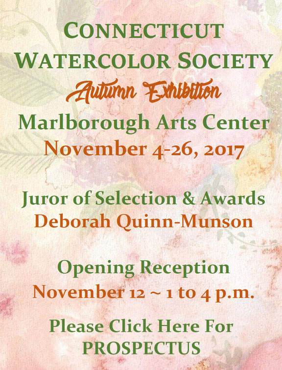 CONNECTICUT WATERCOLOR SOCIETY